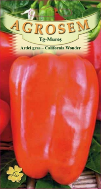 Ardei gras - California Wonder 1gr.